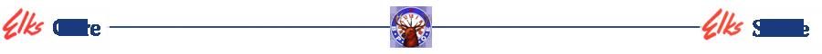 Home Elks Divider Bar